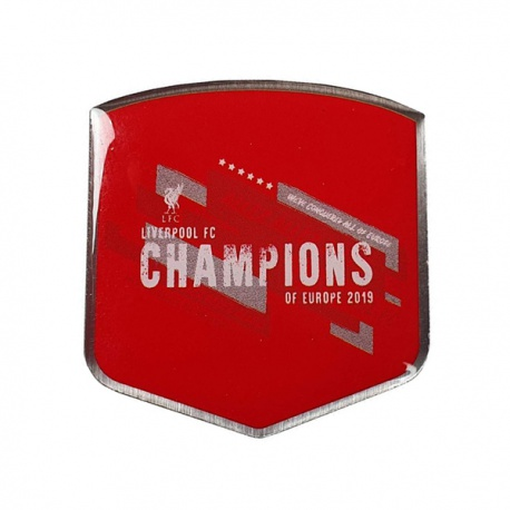 Klubový odznak na sako FC LIVERPOOL Champions of Europe 2019 FOREVER COLLECTIBLES LIV1527