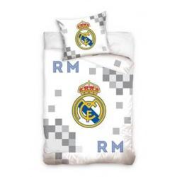 CARBOTEX Obojstranné obliečky REAL MADRID White, 140/200+70/80