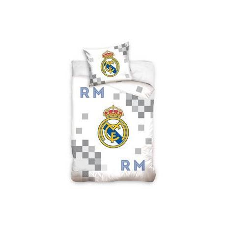 CARBOTEX Obojstranné obliečky REAL MADRID White, 140/200+70/80 CARBOTEX REA1452x