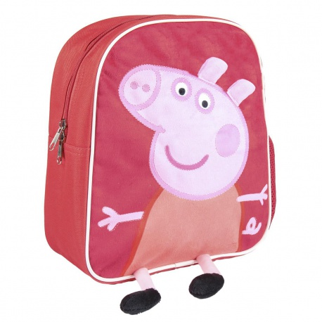 Detský plyšový 3D batoh PEPPA PIG, 2100002466