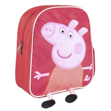 Detský plyšový 3D batoh PEPPA PIG, 2100002466 CERDÁ PPP0925