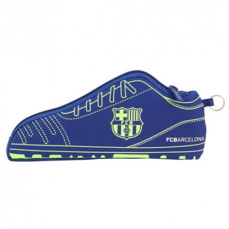 SAFTA Peračník kopačka / puzdro FC BARCELONA Blue Neon, 811826584