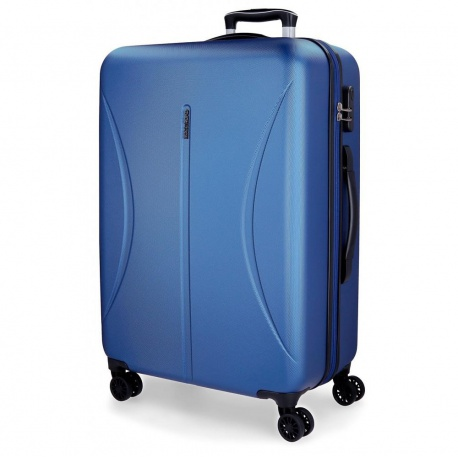 ABS Cestovný kufor ROLL ROAD CAMBOYA Blue, 70x49x27cm, 75L JOUMMA BAGS ROL2974M