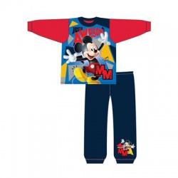 Chlapčenské bavlnené pyžamo MICKEY MOUSE Red