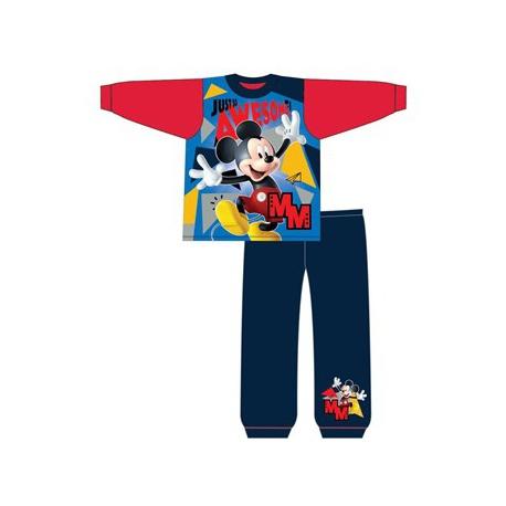 Chlapčenské bavlnené pyžamo MICKEY MOUSE Red,    TDP Textiles MIC1822|2