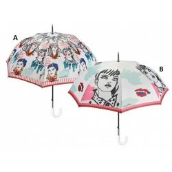 PERLETTI® Luxusný dámsky automatický dáždnik MAISON Donna / A