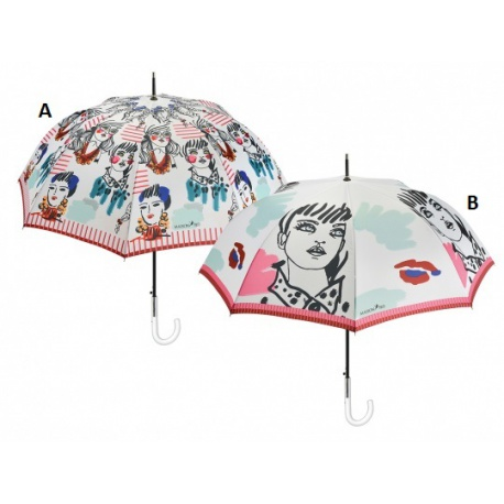 PERLETTI® Luxusný dámsky automatický dáždnik MAISON Donna / A PERLETTI® PER0965A