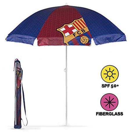 PERLETTI® Detský plážový slnečník s UV ochranou FC BARCELONA PERLETTI® BRC1251x