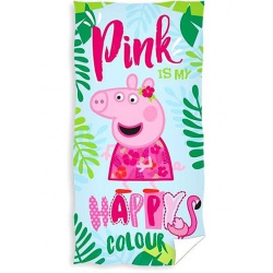 CARBOTEX Bavlnená osuška 70/140cm PEPPA PIG Happy