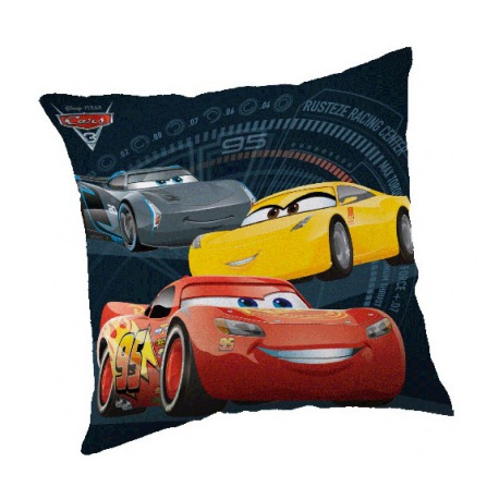 CARBOTEX Obliečka na vankúšik 40/40cm DISNEY CARS CARBOTEX CAR1904