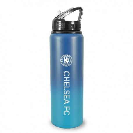 Hliníková fľaša s výsuvnou slamkou CHELSEA F.C. Fade Tritan, 750ml FOREVER COLLECTIBLES CHE1623