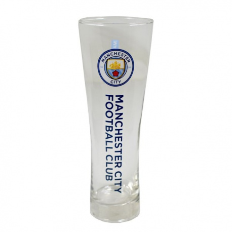 Vysoký pohár na pivo MANCHESTER CITY Pilsner Premium FOREVER COLLECTIBLES MNC1974
