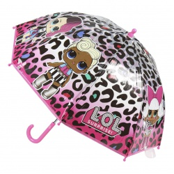 Detský dáždnik L.O.L. Surprise Transparent, 2400000514