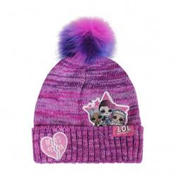 Detská zimná čiapka s aplikáciami L.O.L. Surprise Premium, 2200004296