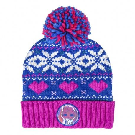 Detská zimná čiapka s aplikáciami L.O.L. Surprise, 2200004297 CERDÁ LOL0867