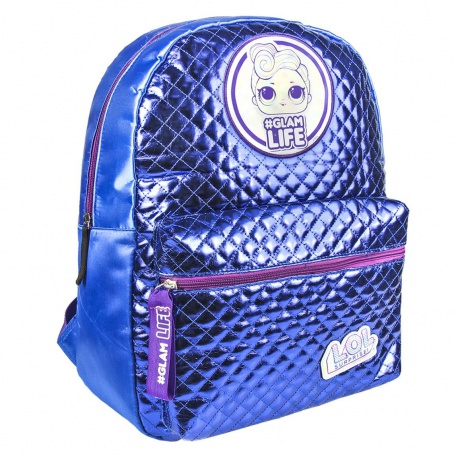 Dievčenský štýlový batoh L.O.L. Surprise Fashion Blue, 40cm, 2100002695 CERDÁ LOL0853