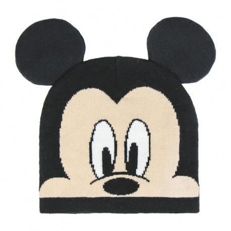 Chlapčenská zimná čiapka s aplikáciami MICKEY MOUSE, 2200004349