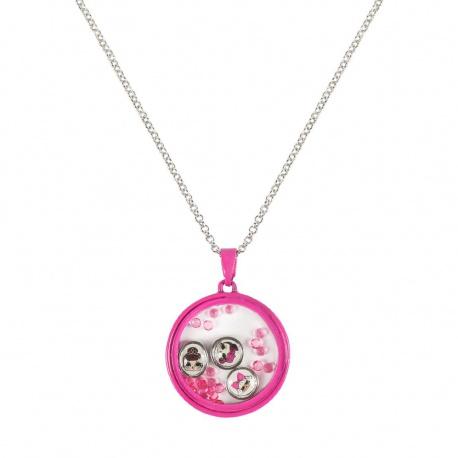 Dievčenský náhrdelník s príveskom L.O.L. Surprise Kruh, 2500001117 CERDÁ LOL0847