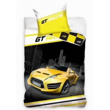 CARBOTEX Obojstranné bavlnené obliečky GT RACING, 140/200+70/80cm CARBOTEX CAR1674