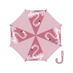 ZASKA Dámsky automatický dáždnik FLAMINGO