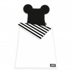 HERDING Luxusné 3D obojstranné bavlnené obliečky MICKEY MOUSE, 140/200+70/90