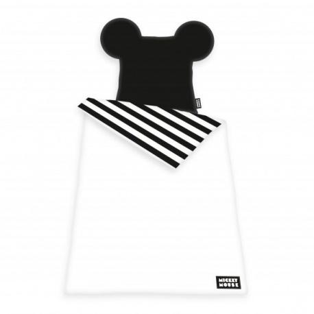 HERDING Luxusné 3D obojstranné bavlnené obliečky MICKEY MOUSE, 140/200+70/90 HERDING MIC1529