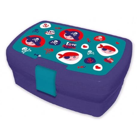 Plastový box na desiatu PIRÁTI, KL10268 KIDS LICENSING® PIR2999
