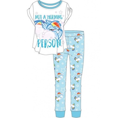 Dámske bavlnené pyžamo MY LITTLE PONY,    TDP Textiles PON0912 S