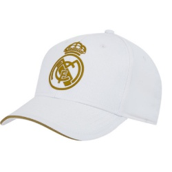 Junior šiltovka REAL MADRID C.F. White/Gold 52cm