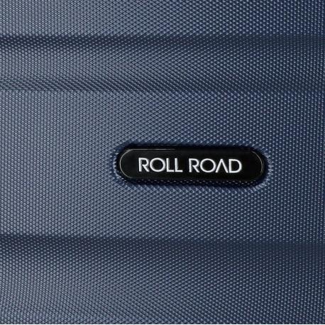 ABS Cestovný kufor ROLL ROAD FLEX Navy Blue, 55x38x20cm, 35L, 5849162