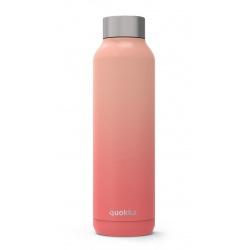 QUOKKA Nerezová fľaša / termoska Peach 630ml