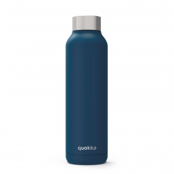 QUOKKA Nerezová fľaša / termoska MIDNIGHT BLUE 630ml, 11815