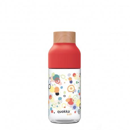QUOKKA ICE Plastová fľaša KIDS DOTS 570ml, 06980