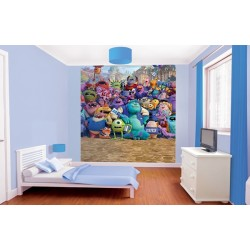 WALLTASTIC®  Fototapeta 203 x 243cm MONSTERS UNIVERSITY