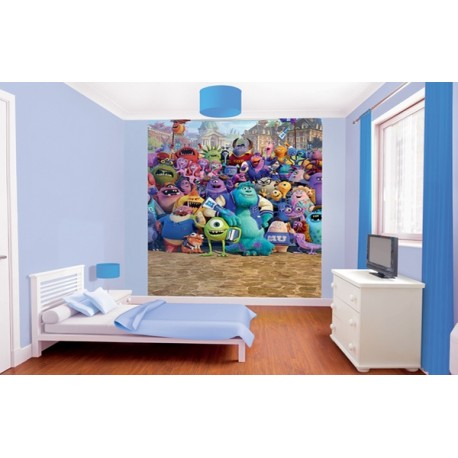 WALLTASTIC®  Fototapeta 203 x 243cm MONSTERS UNIVERSITY WALLTASTIC® MNI2994