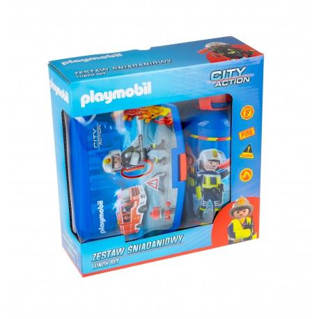 Súprava na desiatu / box + fľaša PLAYMOBIL® City, PL-07, 511020001