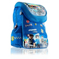 Školský anatomický batoh pre prvý stupeň PLAYMOBIL® Police, PL-11