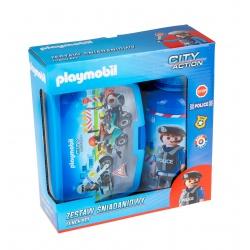 Súprava na desiatu / box + fľaša PLAYMOBIL® Police, PL-08