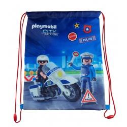 Vrecúško na prezuvky  PLAYMOBIL® Police, PL-12