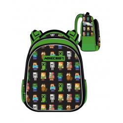 Anatomická školská taška / batoh MINCERAFT, 31L, 502020100