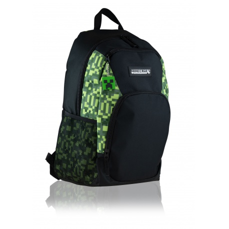 Dvojkomorový študentský batoh MINECRAFT, 30L, 502020204