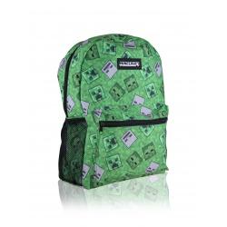 4 dielna súprava MINECRAFT - Jednokomorový športový batoh, peračník, fľaša, box na desiatu