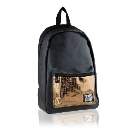 HASH® Štýlový koženkový batoh Glamour, HS-278, 502020069