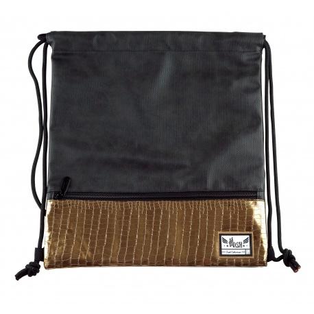 HASH® Luxusné koženkové vrecúško / taška na chrbát Glamour, HS-279, 507020031