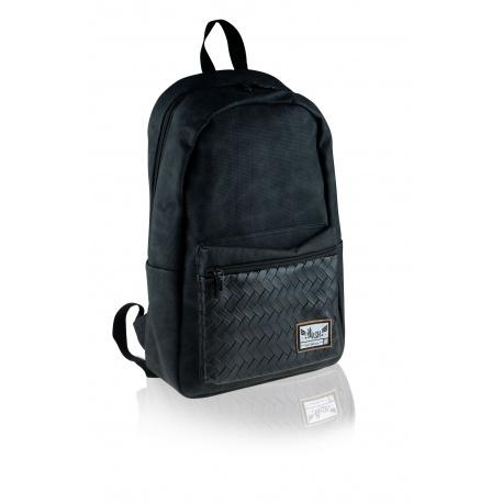 HASH® Štýlový koženkový batoh Black Angel, HS-340, 502020102