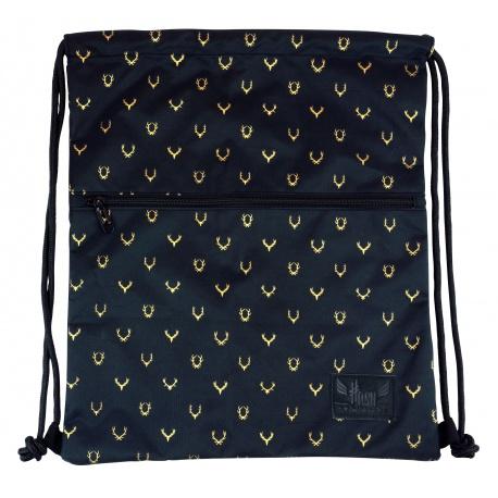 HASH® Luxusné vrecúško / taška na chrbát Oh Deer, HS-242, 507020043