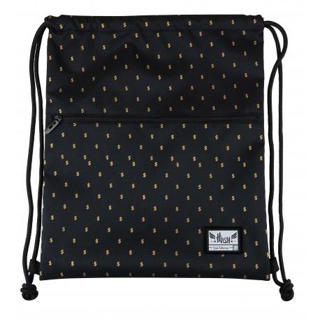 HASH® Luxusné vrecúško / taška na chrbát Gold Dollars, HS-254, 507020028