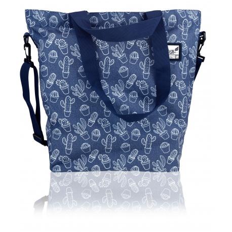 HASH® Štýlová taška cez rameno Jeans Cactus, HS-275, 506020016