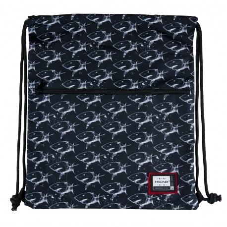 HEAD Luxusné vrecúško / taška na chrbát X-Ray Sharks, 507020029