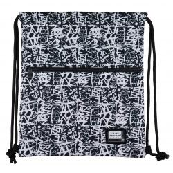 HEAD Luxusné vrecúško / taška na chrbát Grafitti, HD-433